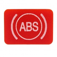 Durite Bottom Switch Red Lens - ABS Brake Warning | Re: 0-792-30