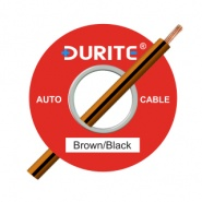 0-932-31 100m x 1.00mm² Brown-Black 16.5A Auto Single Core Cable