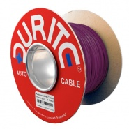 0-941-06 50m x 0.65mm² Purple 5.75A Auto Single Core Electric Cable