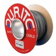0-941-09 50m x 0.65mm² Grey 5.75A Auto Single Core Electric Cable