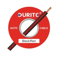 0-942-15 50m x 1.00mm² Black-Red 8.75A Auto Single Core Cable