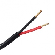 0-952-51-1 Sold Per Metre 1.00mm² Red-Black 8.75A Twin Core Flat PVC Cable