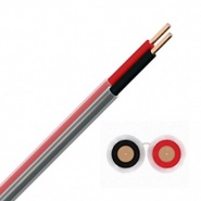 0-975-50 Durite 50m Siamese Twin-Core PVC Red-Black Battery Cable - 50mm²