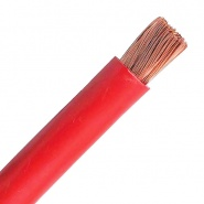 0-977-15 10m Durite 50mm² Flexible Electric Starter Cable Red 345A