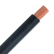 0-981-00 10m Durite 25mm² Electric Starter Cable Black 170A
