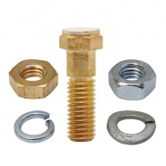 2070-85 Albright Single Fixed Contact Stud - Large Tip