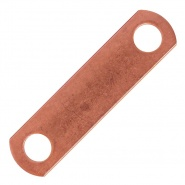 2155-50 Albright Top Straight Copper Link Bar
