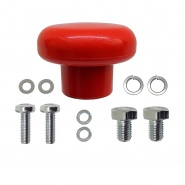 2450-54 Albright Emergency Stop Switch Red Knob Hardware Kit
