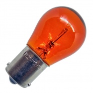 Durite 12V 21W (581) Single Contact Horizontal Off-Set Bayonet Amber Bulb