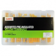 0-203-03 Durite Assorted Box of Pre-insulated Yellow Terminals