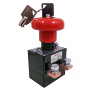 ED250LB-4 Albright HD Emergency Stop Switch with Key 250A 96V Maximum