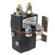 SW61-128 Albright 8V DC Single Pole Double Throw 80A Solenoid - Intermittent