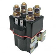 SW82-213P Albright Double Pole Single Coil Solenoid 72V Continuous - IP66