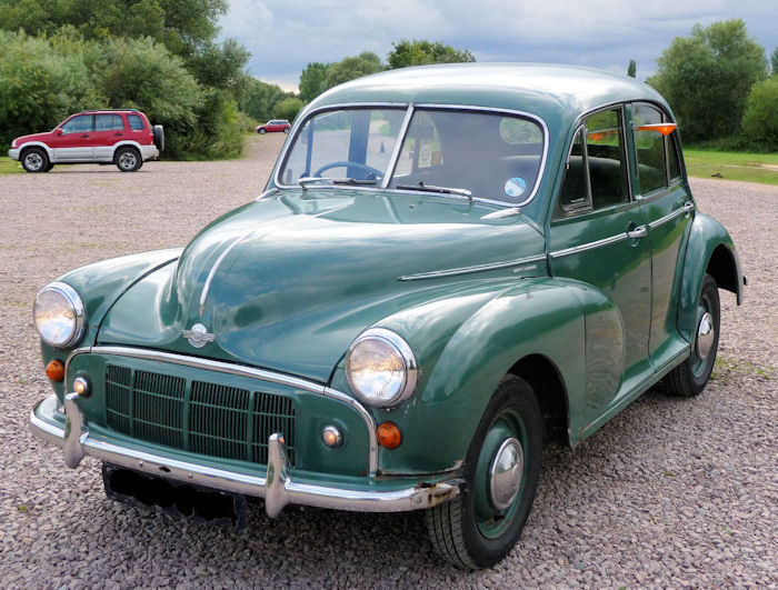 1952 Series MM, 918cc Sidevalve Engine, in Empire Green