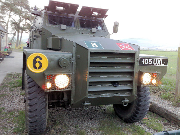 1953 Mk1 FV1611b Humber 1 Ton Armoured Truck