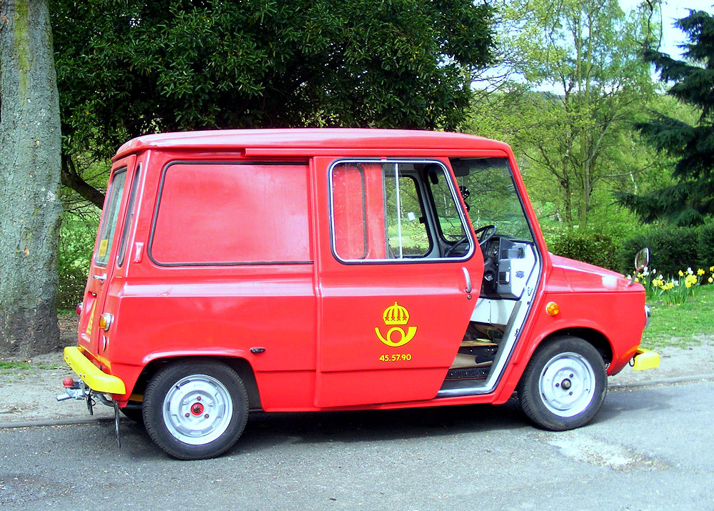 1970's KVD440 Swedish Mail Delivery Van