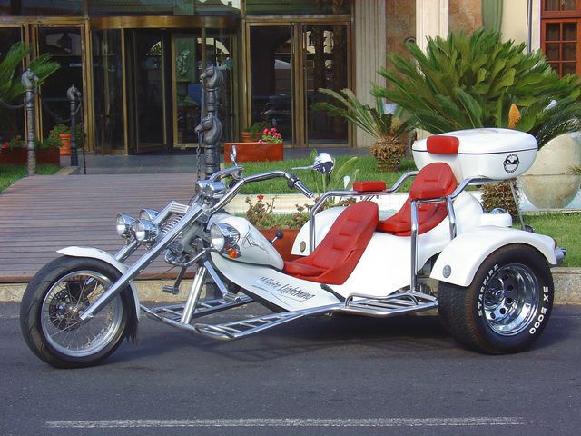 White Lightning, just one of the trike's at Cool Runnings